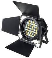 Par a LED con luce bianca