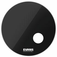 "Evans 24"" EQ3 Resonant Bass Drum BK"