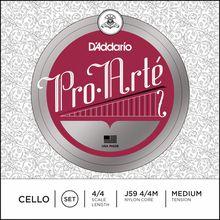 Daddario J59 Pro Arte Cello 4/4 medium