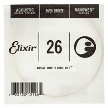 Elixir .026 Western Guitar