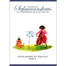 Bärenreiter Saßmannshaus Anfang Cello 1