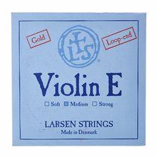 Larsen Violin SingleString E Gold SLG