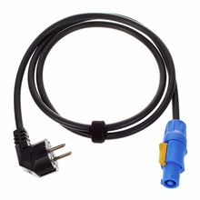 Cordial Power Twist Cable 1,5m Angled