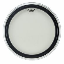 """Evans 22"""" EMAD2 Clear Bass Drum"""
