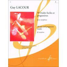 Editions Billaudot 50 Etudes Faciles 1 Saxophon