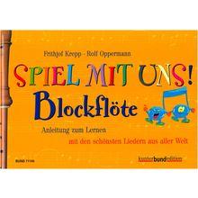 Bund Verlag Spiel mit uns Blockflöte
