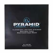 Pyramid Nylon Satz Black Wires