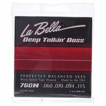 La Bella 760N Black Nylon Tape