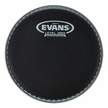 "Evans 06"" Onyx Black Tom Tom"