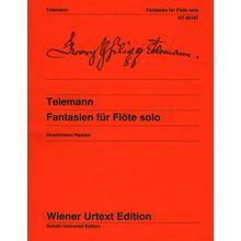 Wiener Urtext Edition Telemann Fantasien f.Flöte