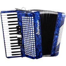 Startone Piano Accordion 72 Blue