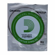 Daddario NW036 Single String