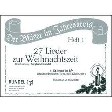 Musikverlag Rundel 27 Lieder Weihnacht 4 Bb
