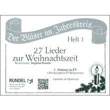 Musikverlag Rundel 27 Lieder Weihnacht 1 Eb