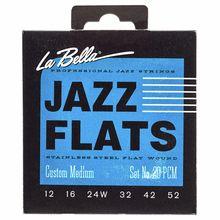La Bella 20-PCM Jazz Flats FWSS