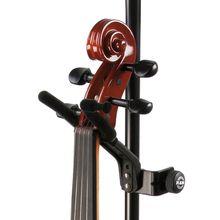 K&M 15580 Violin Holder BK