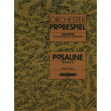 Edition Peters Orchester Probespiel Posaune