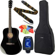 Fender CD-60 BK Bundle