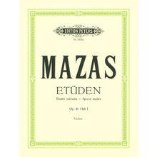 Edition Peters Mazas Etüden op.36 Heft 1