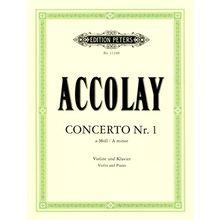 Edition Peters Accolay Concerto Nr.1 Violin
