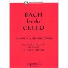 G. Schirmer Bach For The Cello