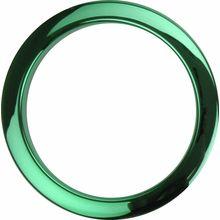 """Bass Drum O's 4"""" Green Chrome round HCG4"""