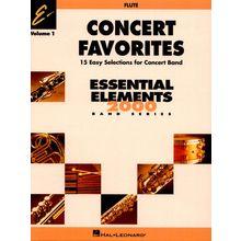 Hal Leonard Concert Favorites 1 Flute