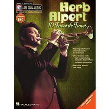 Hal Leonard Jazz Play-Along Herb Alpert