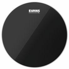 """Evans 16"""" Black Chrome Tom"""