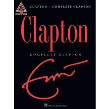 Hal Leonard Eric Clapton: Complete Clapton