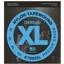 Daddario ETB92SL Black Nylon