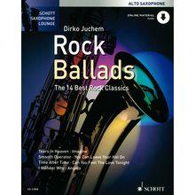 Schott Rock Ballads Alto Sax