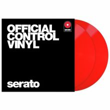 Serato Performance-Serie Vinyl Red