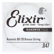 Elixir .047 Western Bronze 80/20 NW
