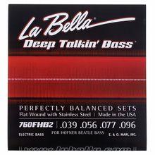 La Bella 760FHB2 Beatle Bass String Set
