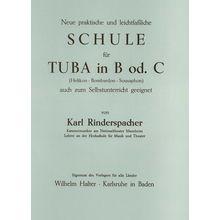 Musikverlag Wilhelm Halter Rinderspacher Tuba Bb or C