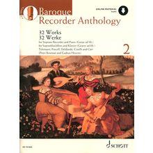 Schott Baroque Recorder Anthology 2