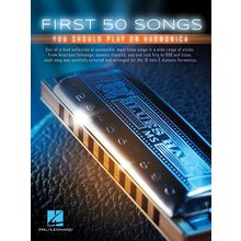 Hal Leonard First 50 Songs Play Harmonica