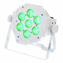 Varytec LED Pad7 7x10W 6in1 RGBWAUV WH