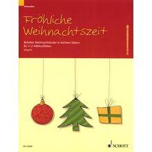 Schott Weihnachtszeit Alt-Blockflöte