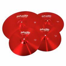 Paiste 900 Color Univ. Cymbal Set RED