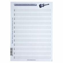 Tunesday Records Music Paper Tab Bass