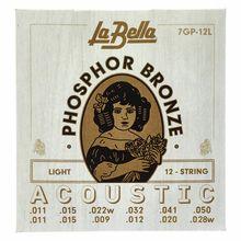 La Bella 7GP-12L Phosphor Bronze L