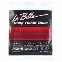 La Bella 750N-B Black Nylon L