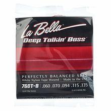 La Bella 760T-B White Nylon Tape MED