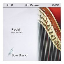 Bow Brand Pedal Natural Gut 3rd C No.17