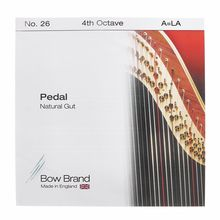 Bow Brand Pedal Natural Gut 4th A No.26