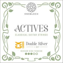 Knobloch Strings Double Silver Carbon 400ADC