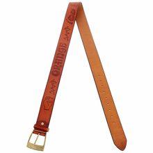 Orange Belt Brown with Logo