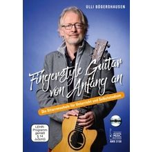 Acoustic Music Books Fingerstyle Guitar von Anfang